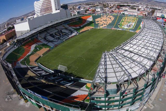 Estadio León fue tomado por Zermeño