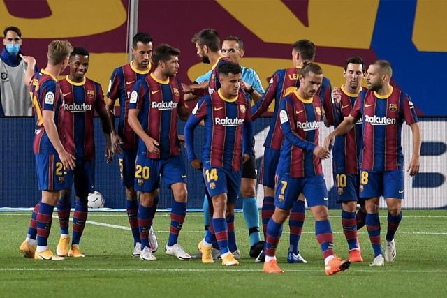 Jugadores del Barcelona sufrirán rebaja de 30% en su salario