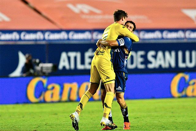 Axel Werner le puso medio gol a Pablo Barrera