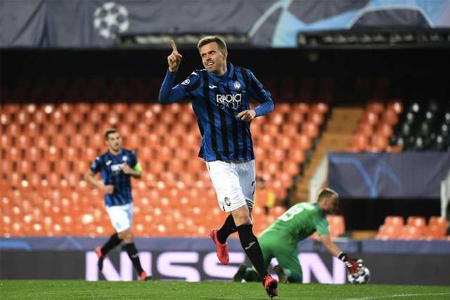 Josip Ilicic estará de regreso con el Atalanta ante el Napoli