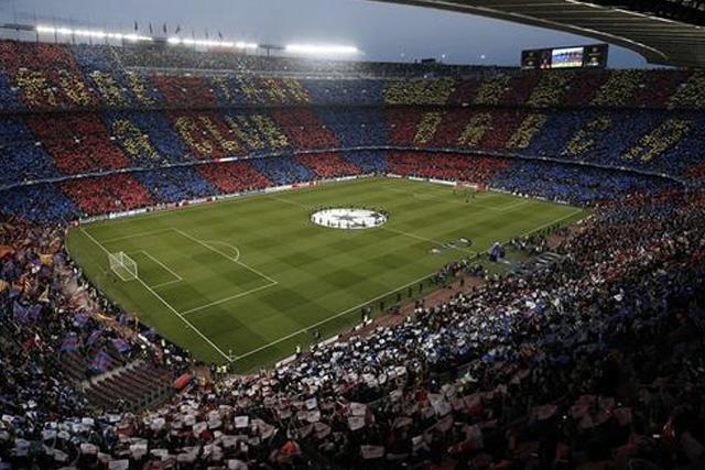 El Camp Nou estará vacío en el debut del Barcelona en la Champions League