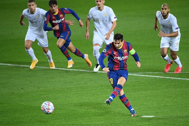 Lionel Messi alcanza nuevo récord en la Champions League