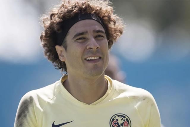Memo Ochoa regresa a los entrenamientos del América