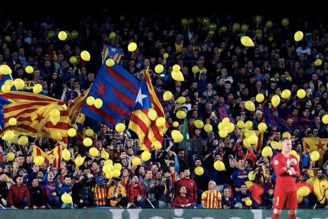 El Barcelona jugaría con aficionados en la J3 de la Champions League
