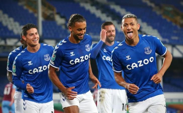 El Everton logra un inicio de temporada casi perfecto