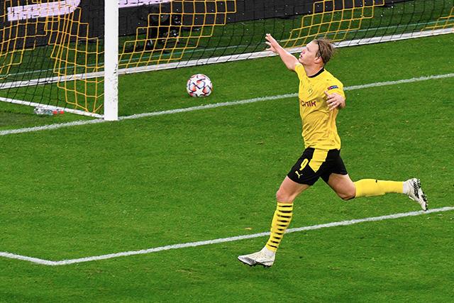 Erling Haaland alcanzó 12 goles en 10 partidos