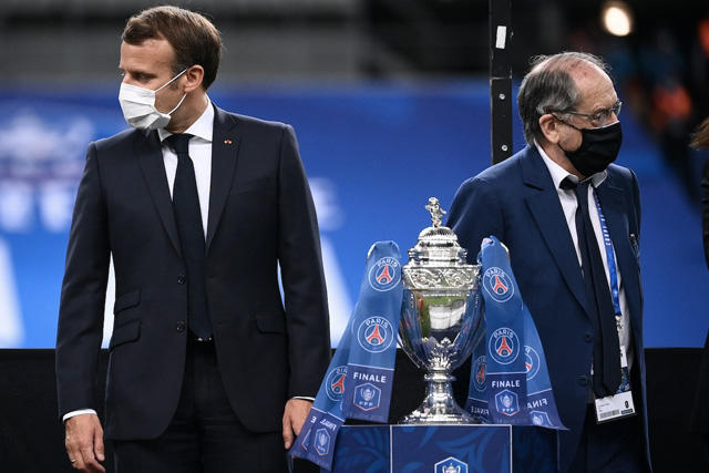 Copa de Francia suspendida hasta diciembre por confinamiento