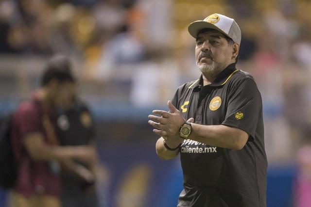 Diego Maradona ha vestido el jersey de seis equipos mexicanos