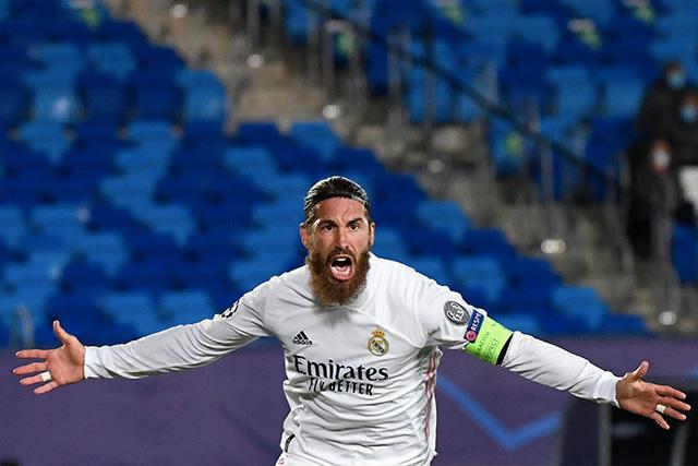 Sergio Ramos llegó a 100 goles con el Real Madrid