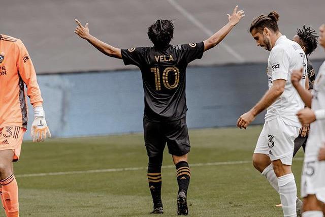 Carlos Vela lidera la lista de jerseys más vendidos en la MLS