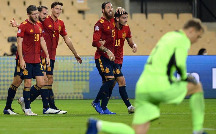 España vence de forma contundente a Alemania