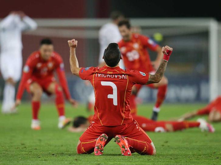 Macedonia clasifica a la Eurocopa