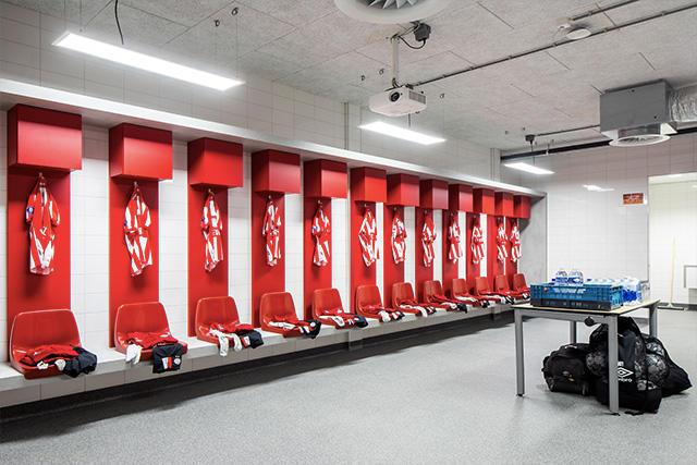Vestidor del Philips Stadion