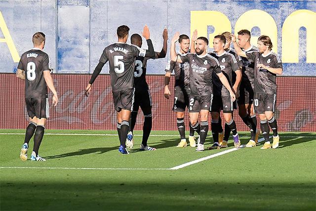 Mariano puso al frente al Real Madrid ante el Villarreal