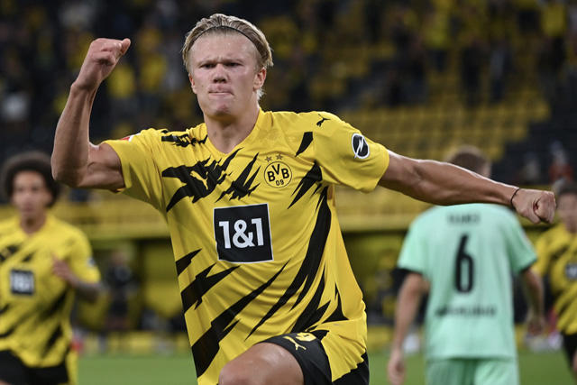 Erling Haaland fue reconocido como el Golden Boy 2020