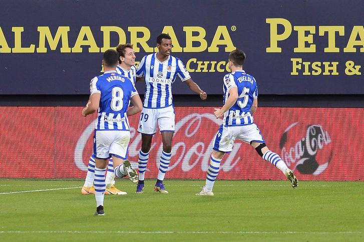 Real Socieda 1-0 Cádiz