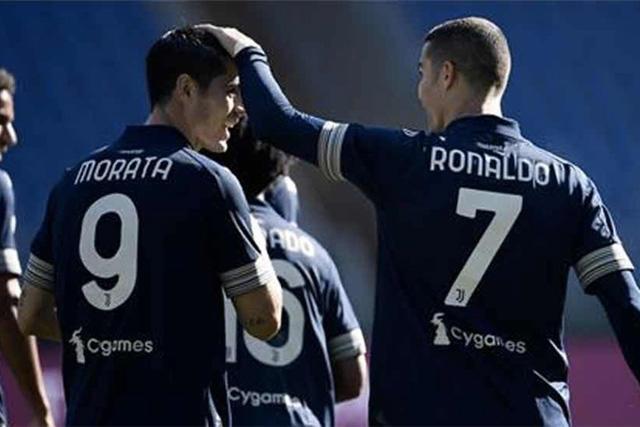 Álvaro Morata, Cristiano Ronaldo y Paulo Dybala jugarían juntos por primera vez
