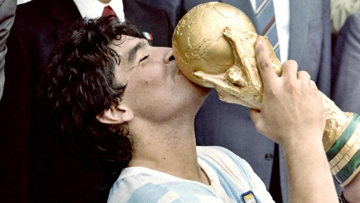 Maradona campeón del mundo '86