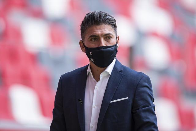 Carlos Adrián Morales no continuará como técnico del Toluca