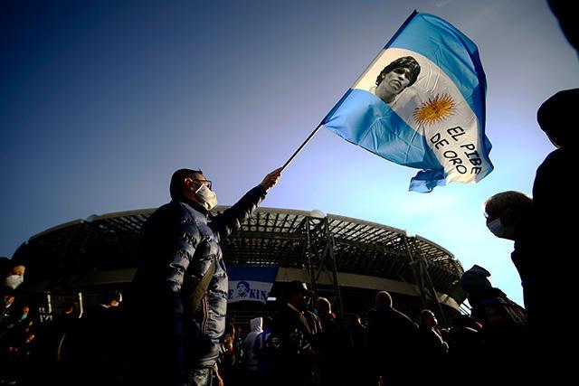 La Liga de Argentina pasa a llamarse Copa Diego Maradona