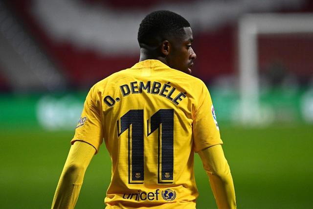 Ousmane Dembélé está en la mira del Manchester United