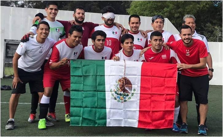 Selección mexicana categoría ciegos y débiles visuales