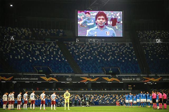 Estadio del Napoli cambia de nombre a Diego Armando Maradona