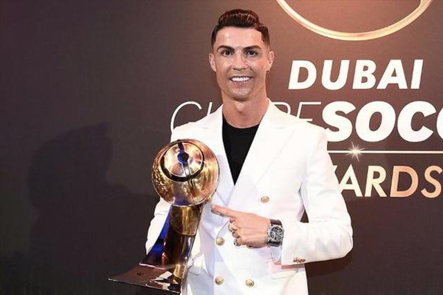 Cristiano Ronaldo es uno de los cuatro nominados a jugador del siglo en los Globe Soccer Awards