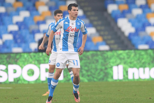 Chucky Lozano llegó a seis goles en la Serie A