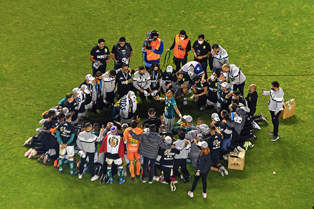 León agradece el título de la Liga MX