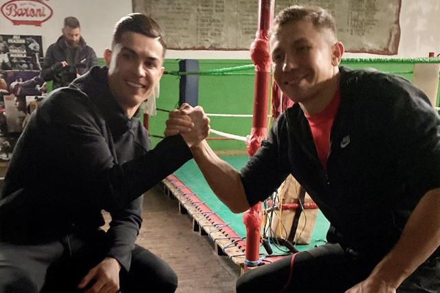 Cristiano Ronaldo y Gennady Golovkin