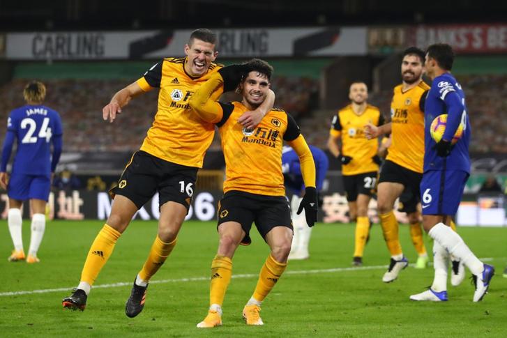 Wolverhampton 2-1 Chelsea