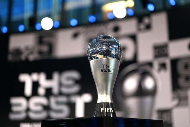 Trofeo de The Best que se le entrega a los ganadores