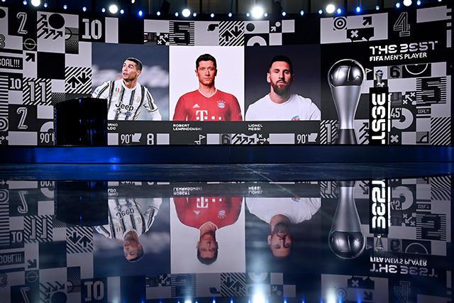 Cristiano Ronaldo, Robert Lewandowski y Lionel Messi, los finalistas a The Best 2020