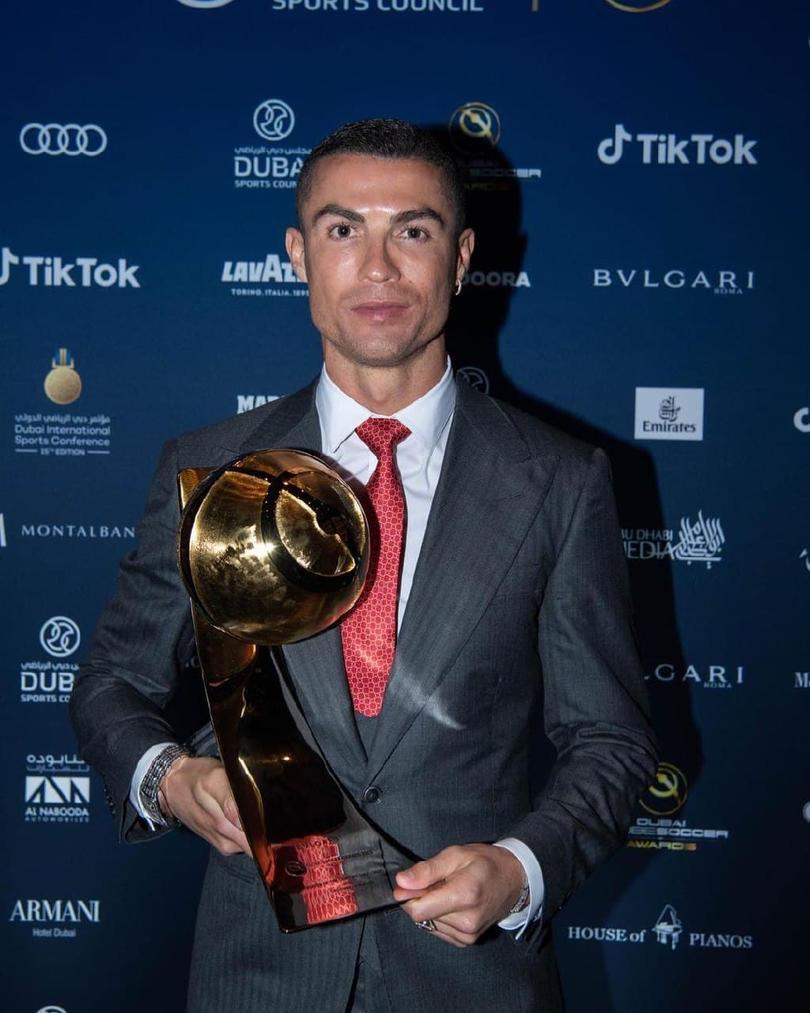 El emotivo discurso de Cristiano Ronaldo.