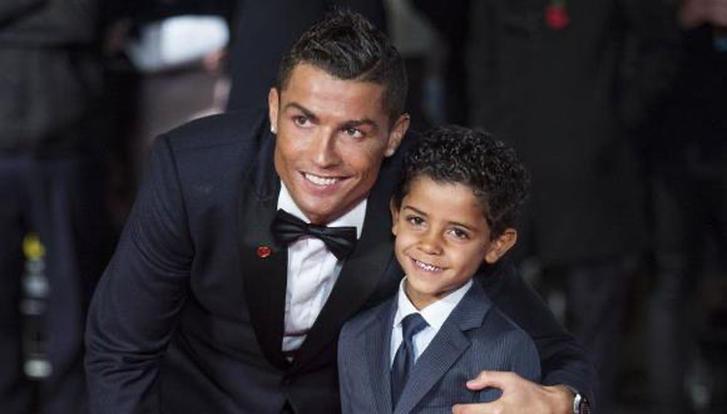 CR7 y Cristiano Ronaldo jr