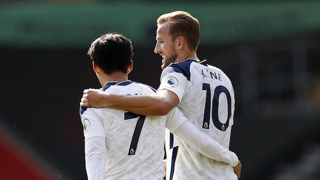 Son y Kane han comandado al Tottenham en la presente temporada