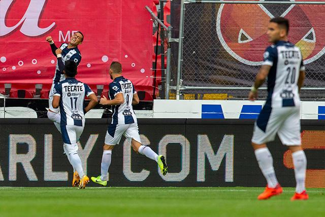 Rogelio Funes Mori marcó un gol a los 33 segundos ante el Atlas