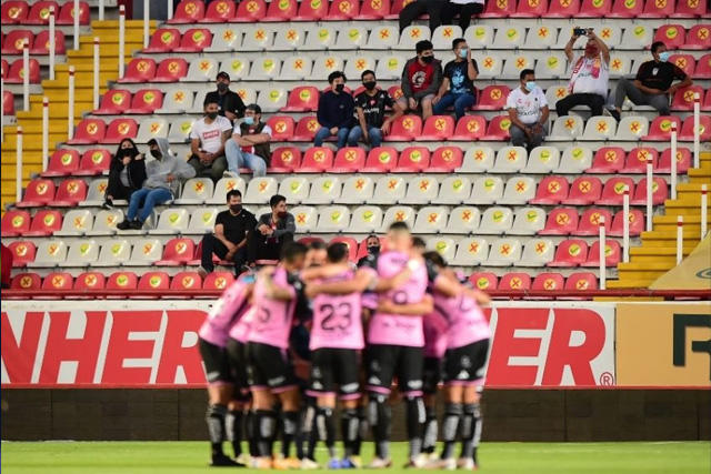 Necaxa jugará con un máximo de siete mil aficionados ante San Luis
