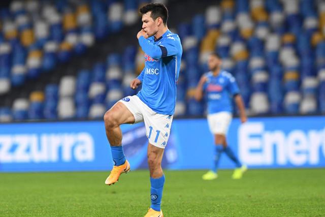 Chucky celebra su golazo ante Empoli en la Copa Italia