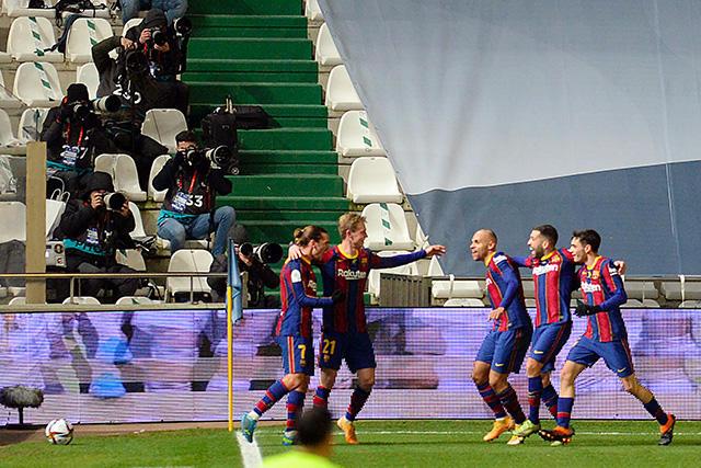 Barcelona avanza a la final de la Supercopa de España tras vencer a la Real Sociedad en penales