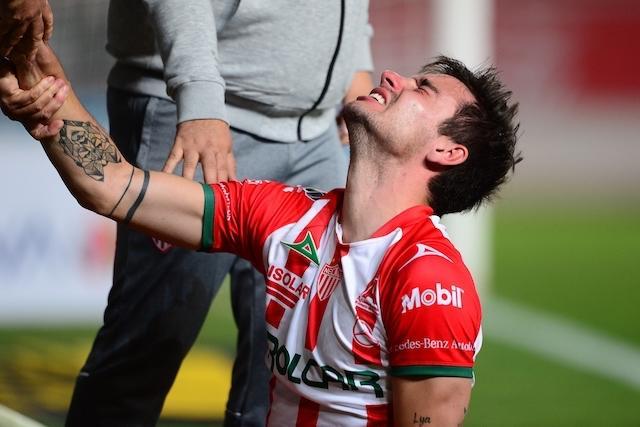Unai Bilbao sufre aparatosa lesión