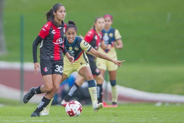 Alison se ha convertido en el futuro del fútbol femenil mexicano