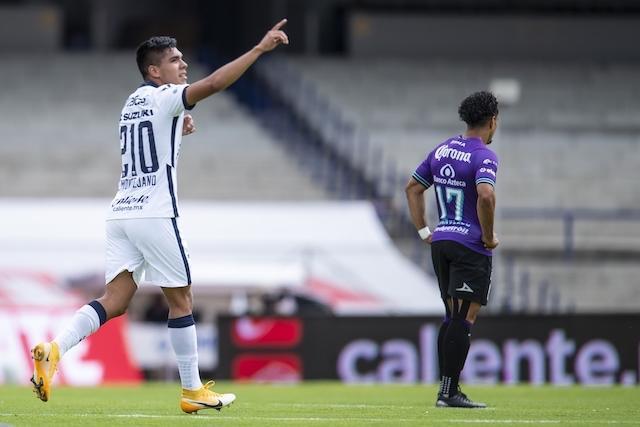 Montejano debuta con gol ante Mazatlán