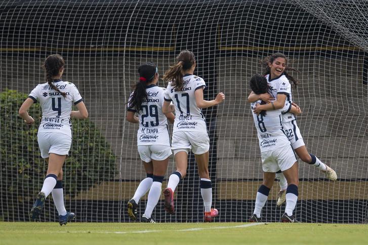 Puebla Femenil 0-3 Pumas Femenil