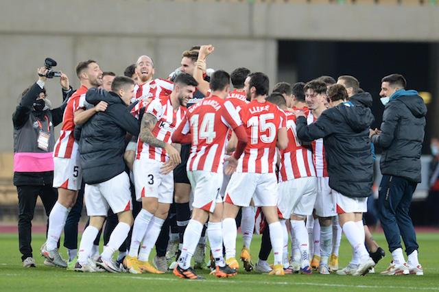 Athletic se proclama campeón de la Supercopa de España
