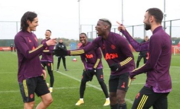 Entrenamiento Manchester United