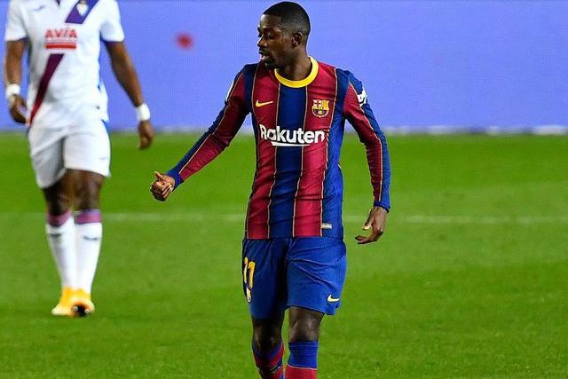 Ousmane Dembélé le dio el pase al Barcelona a los octavos de final de la Copa del Rey