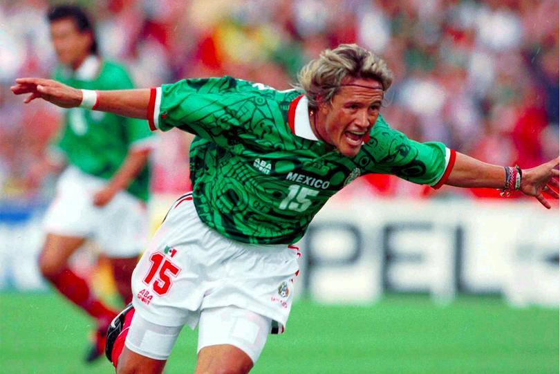 Luis Hernández en el mundial de 1998