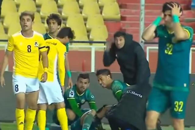 Ahmed Jalal sufrió una fractura de tibia y peroné